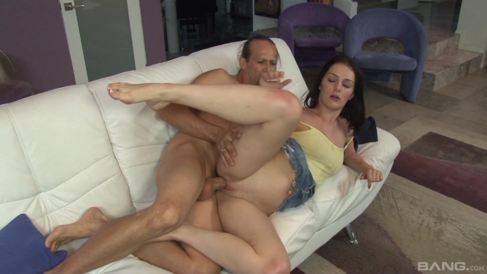Step daddy knows how to poke her pussy and make her feel good