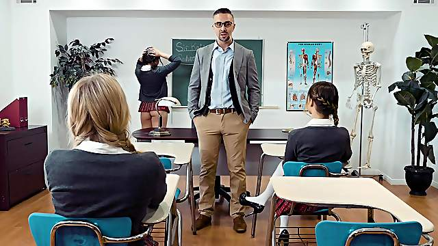 Best hardcore anal pleasures with the math teacher