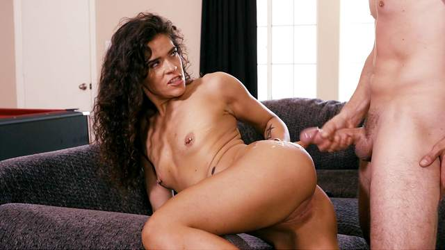 The way this curly Latina fucks is simply amazing
