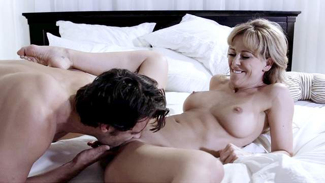 MILF gets dick harder than ever