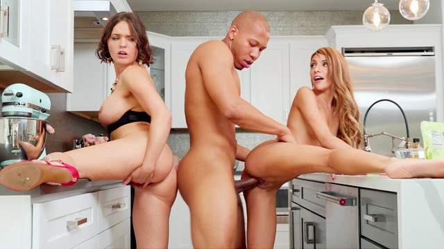 Black dude offers a crazy ride to these married wives